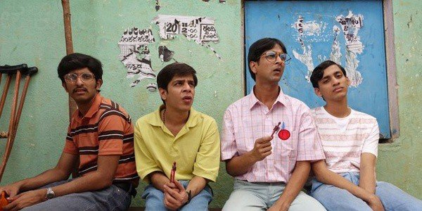 Shashank Arora, Tanmay Dhanania, Chaitanya Varad in Q's Brahman Naman streaming on Netflix