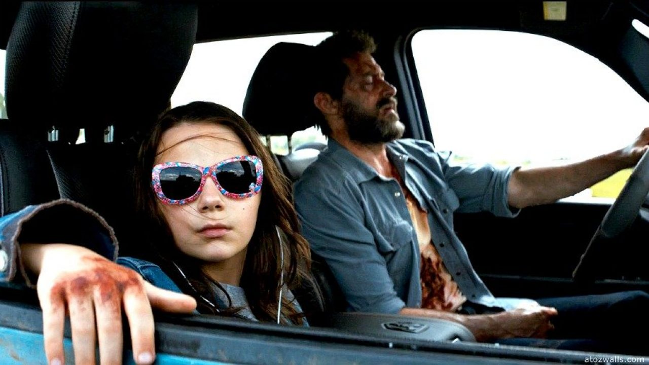 Logan 2017 An Intimate Study Of Blue Red Superhero High On Films