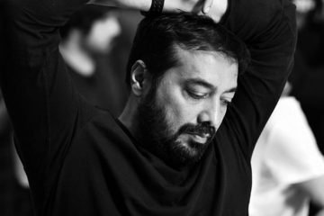 anurag kashyap on set picture
