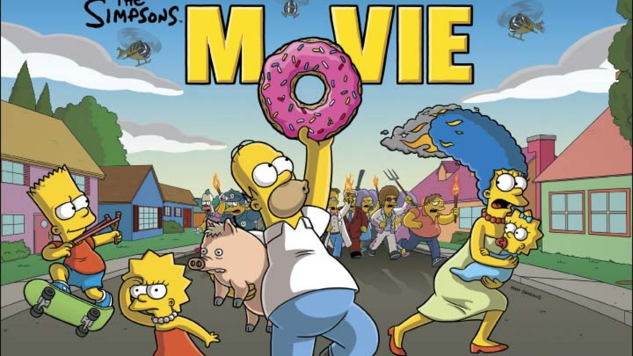 A Decade On The Simpsons Movie 2007 High On Films