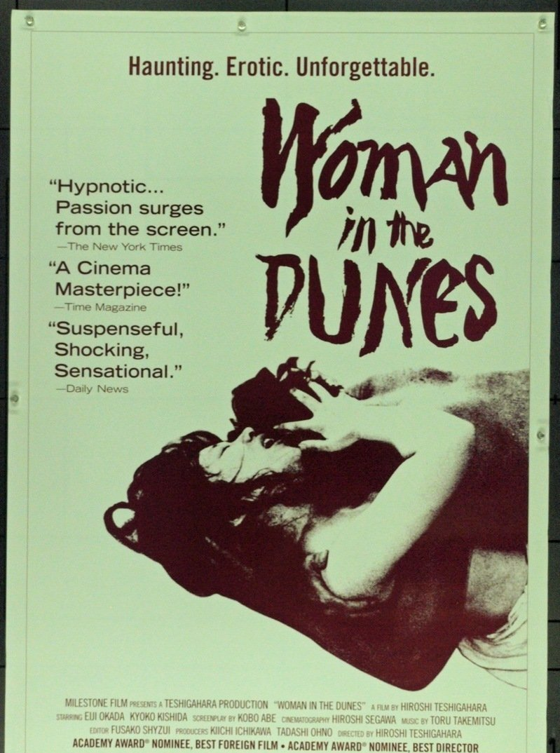 Woman in the Dunes [1964] – A Haunting Existential Masterpiece