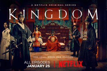 Poster of Korean Zombie Horror Kingdom Netflix
