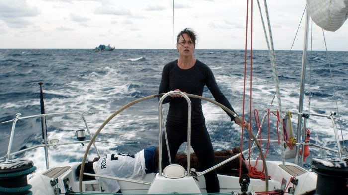 Susanne Wolff is on solo sailing trip to Ascension Island in the film STYX that released in 2019