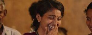 Anusha laughing