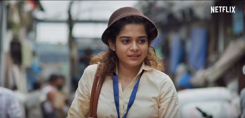 Mithila Palkar wearing hat in Chopsticks Netflix