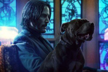 John Wick with his dog in John Wick 3 Parabellum