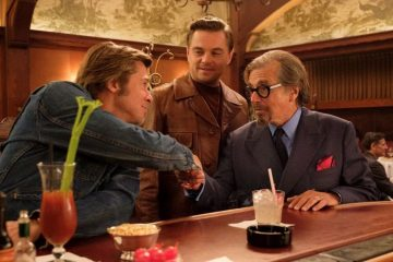 Brad Pitt, Leonardo Caprio and Al Pacino in Quentin Tarantino's Once Upon A Time in Hollywood at Cannes