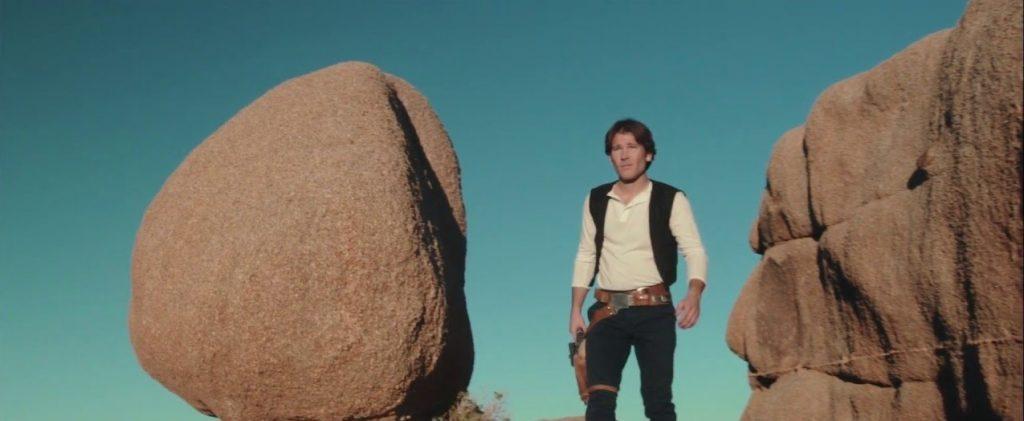 Jamie Costa as young Hans Solo