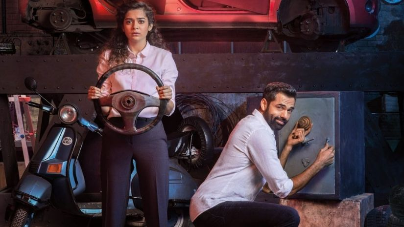 Abhay Deol and Mithila Palkar in Chopsticks Netflix
