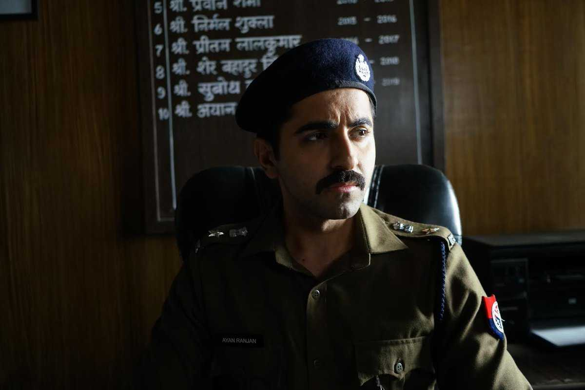 Ayushmann Khurrana as Inspector in Article 15