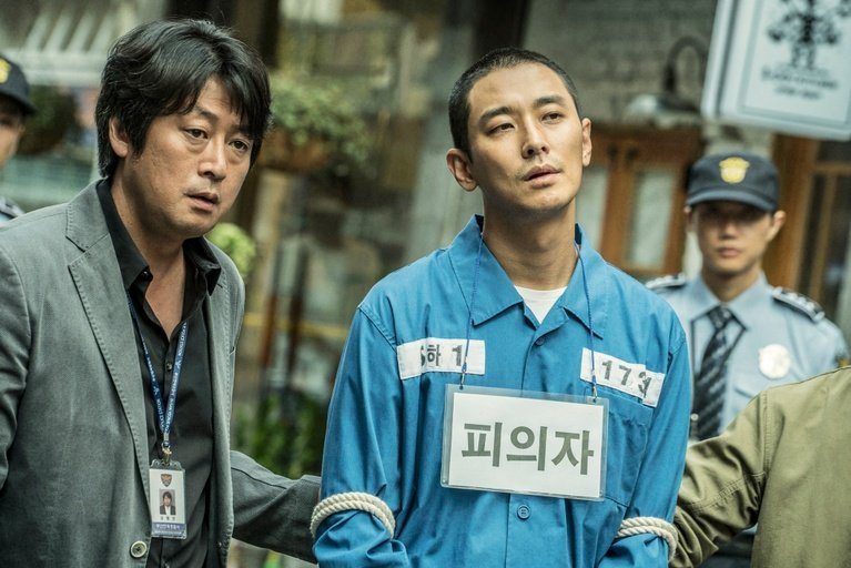 Ju Ji-hoon, Kim Yoon-seok in Dark Figure of Crime