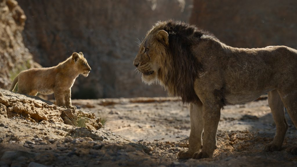 the lion king 2019 featured in content