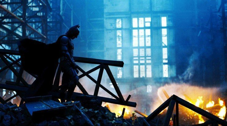 Christopher Nolan The Dark Knight batman in Cinema