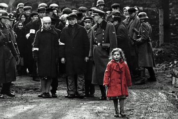 schindlers list girl in the red coat