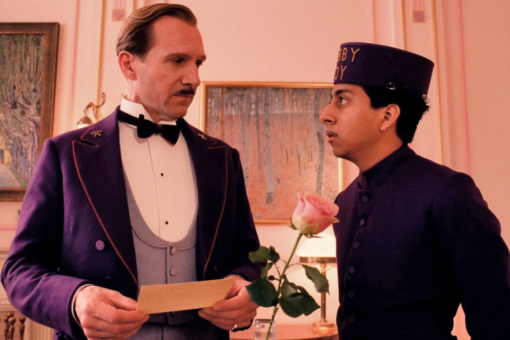 wes anderson film the grand budapest hotel 2014