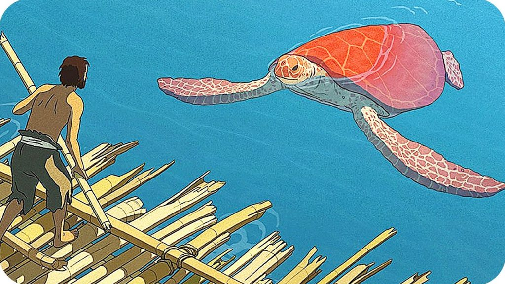 Scene from Studio Ghibli's The Red Turtle