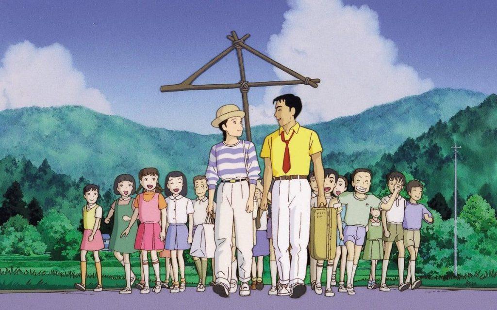 Studio Ghibli Only yesterday 1991
