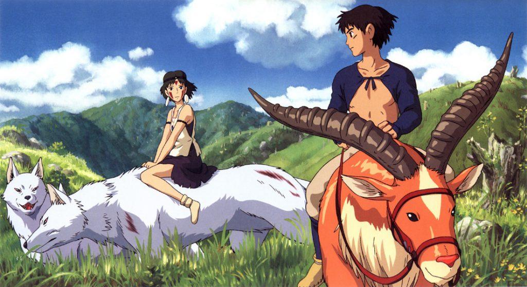 Studio Ghibli princess mononoke