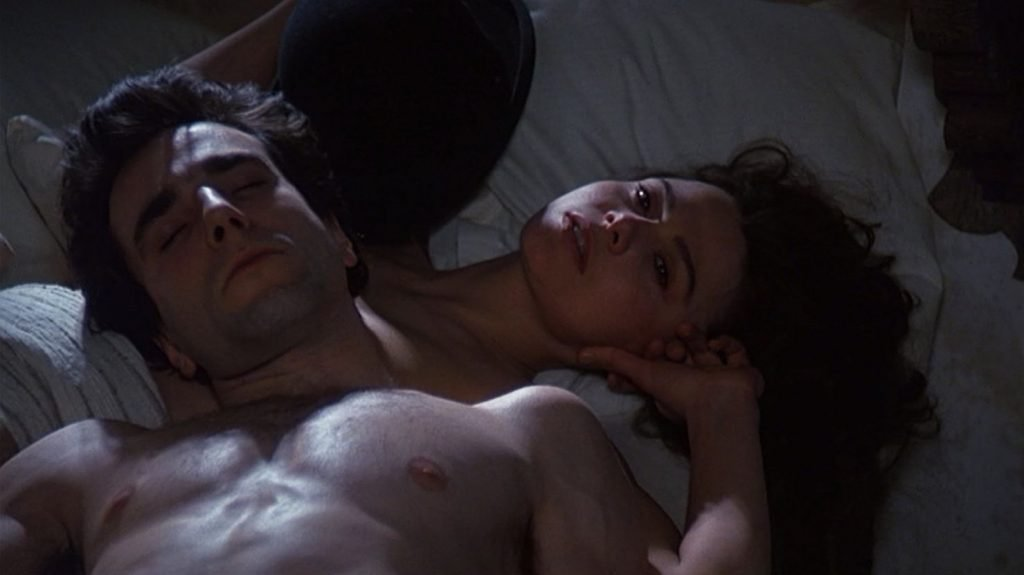 Daniel Day-Lewis in The Unbearable Lightness of Being (1988)