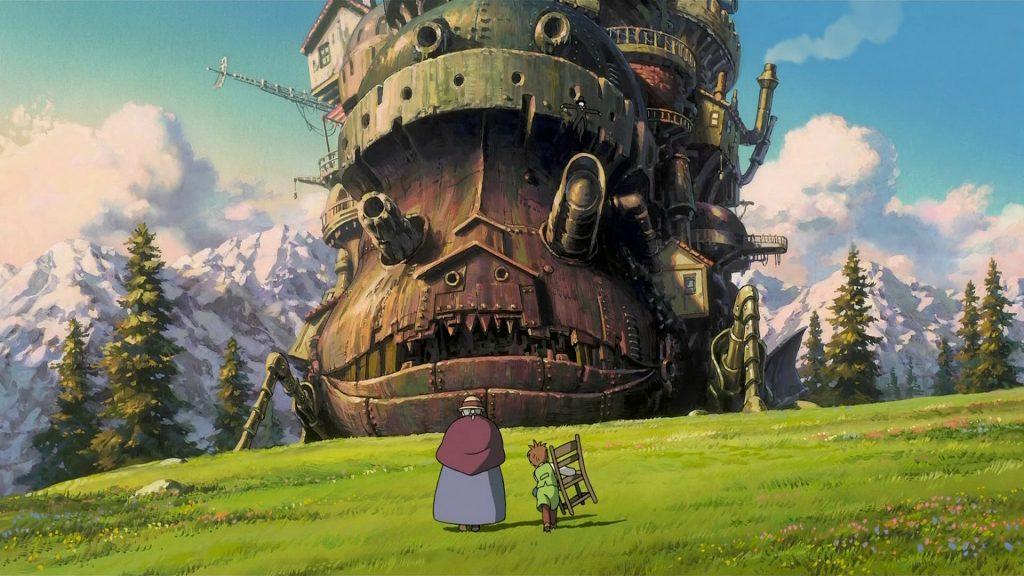 Asian Films on Netflix Howl's Moving Castle