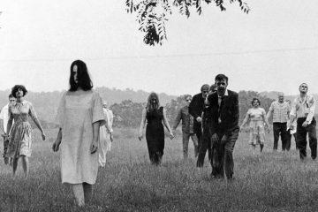 Black and White Horror Films Night of the living dead