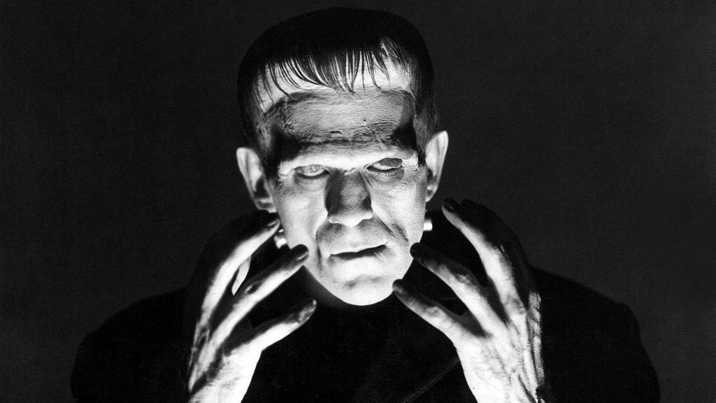 Black and White Horror Films frankenstein